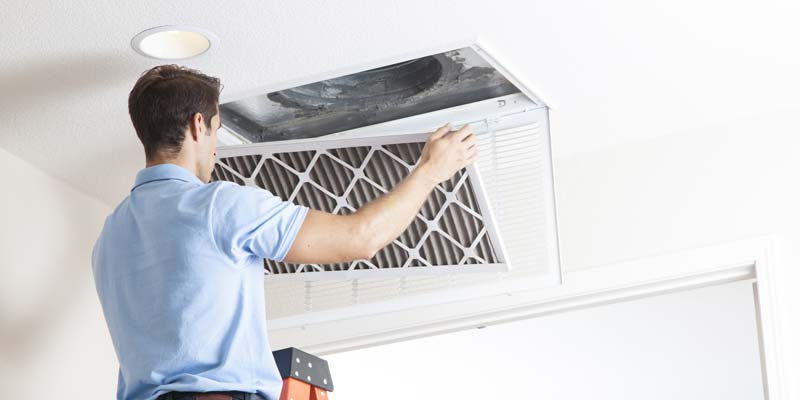 heating duct cleaning in Melbourne home